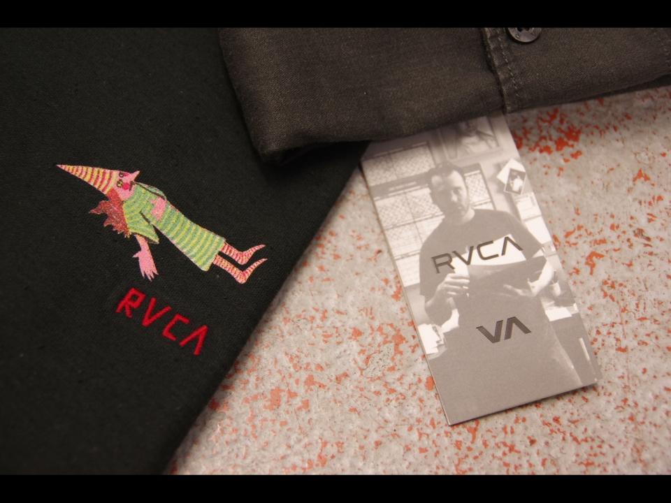 RVCA × ED TENPLETON