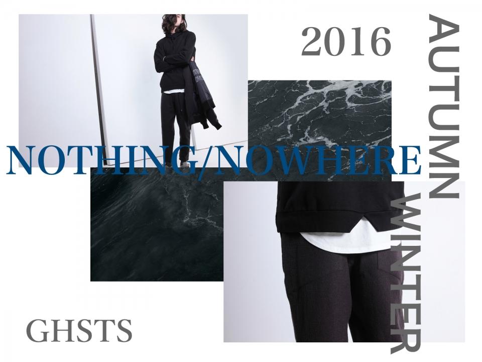 GHSTS AUTUMN/WINTER 2016