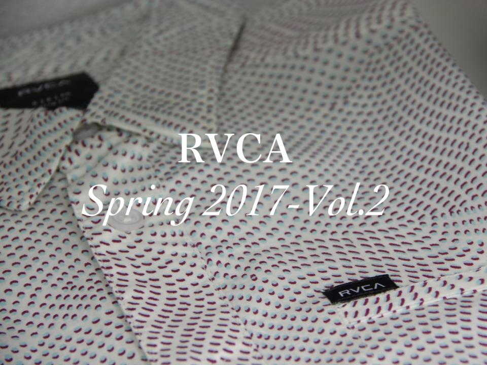 RVCA SPRING 2017