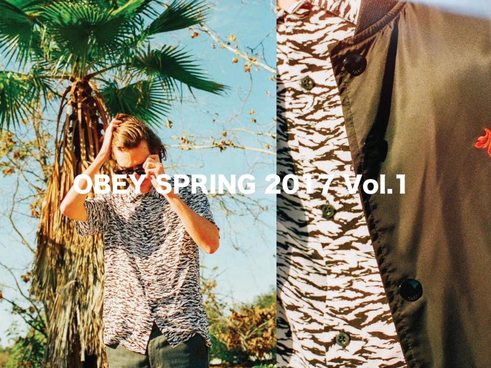 OBEY SPRING 2017