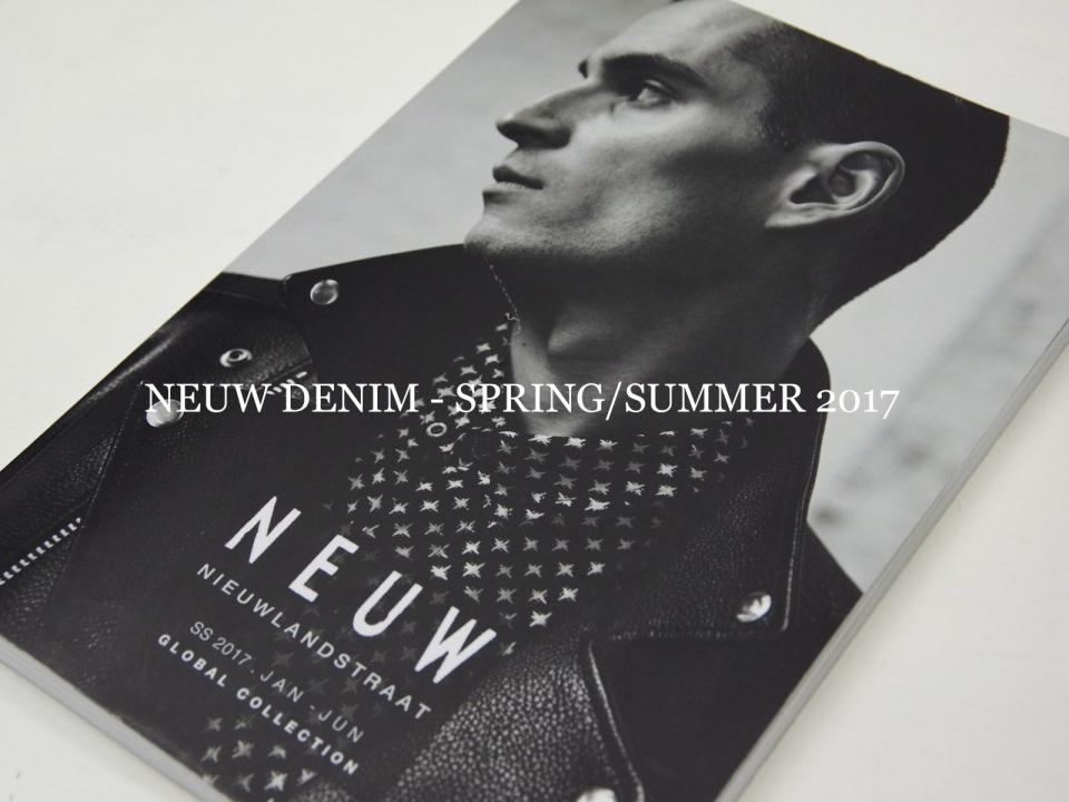 NEUW DENIM SPRING SUMMER 2017