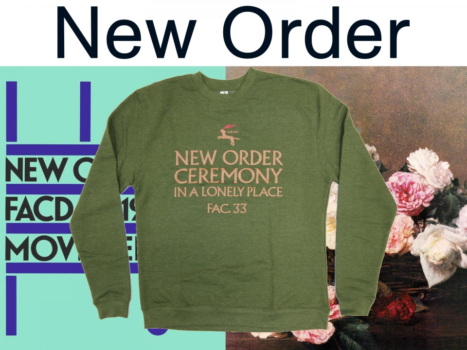 NEW ORDER - New Official Item