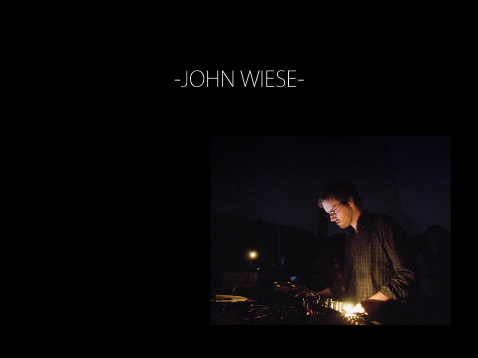 JOHN WIESE