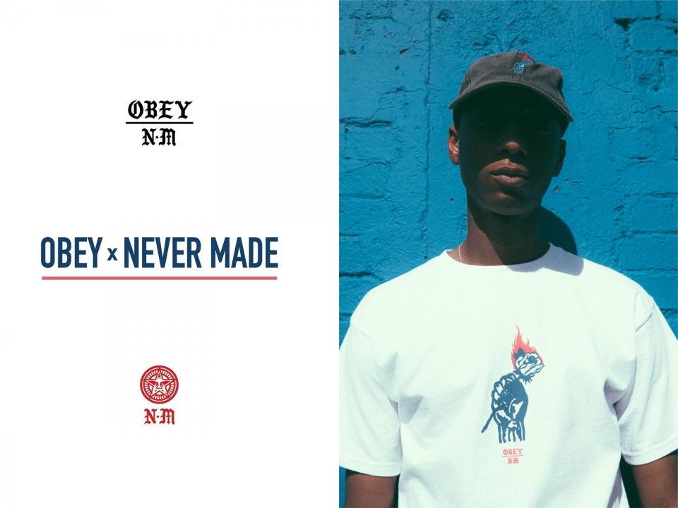OBEY×NEVER MADE