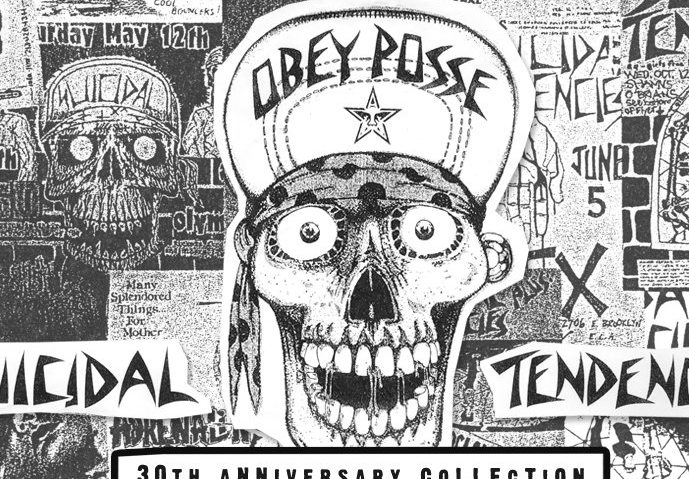 OBEY×SUICIDAL TENDENCIES 30TH ANNIVERSARYスペシャルアイテムが入荷!