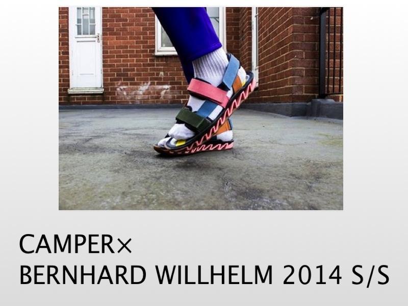 CAMPER×BERNHARD WILLHELM 2014SSコレクション入荷しました