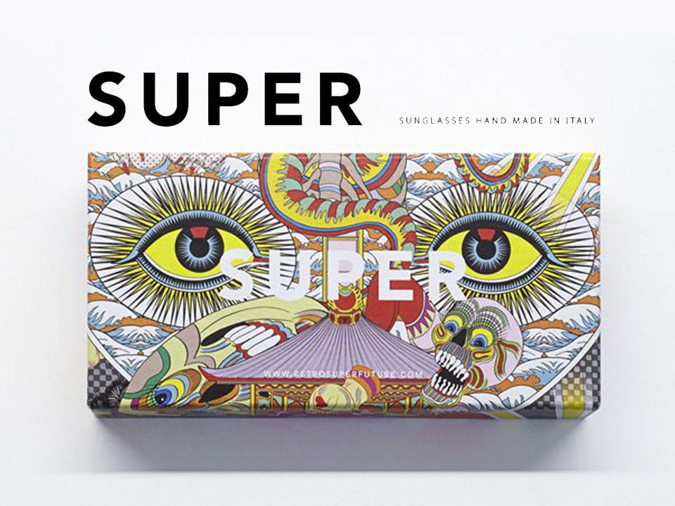 SUPER × KEIICHI TANAAMI SS14コレクション サングラス