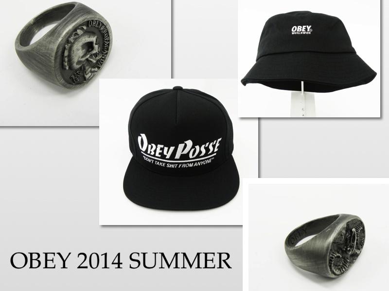 OBEY 2014 SUMMER アクセサリー
