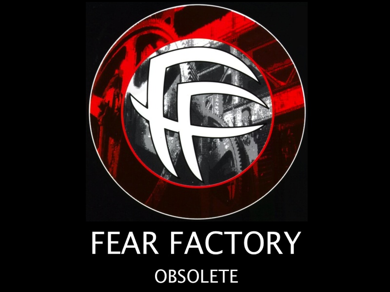 FEAR FACTORY OBSOLETE COVER ART byDAVE McKEAN