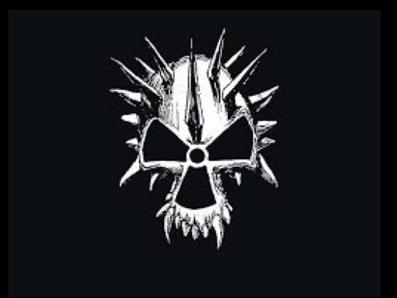 CORROSION OF CONFORMITY SPIKED SKULL art by SELDON HUNT