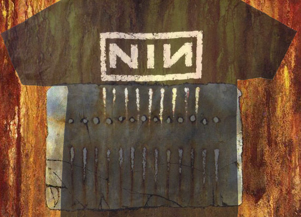 "NINE INCH NAILS ""THE DOWNWARD SPIRAL"" TEE"