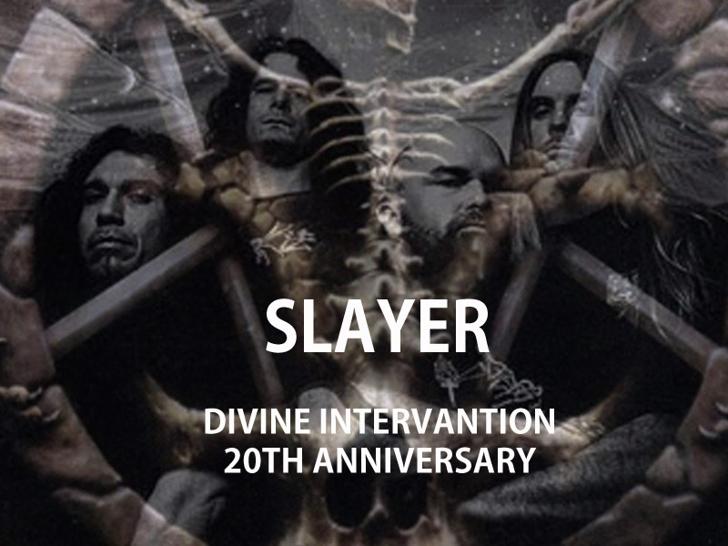 SLAYER DIVINE INTERVENTION 20TH ANNIVERSATY
