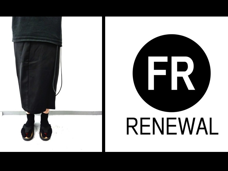 FR RENEWAL / CROSS BIG PANTS