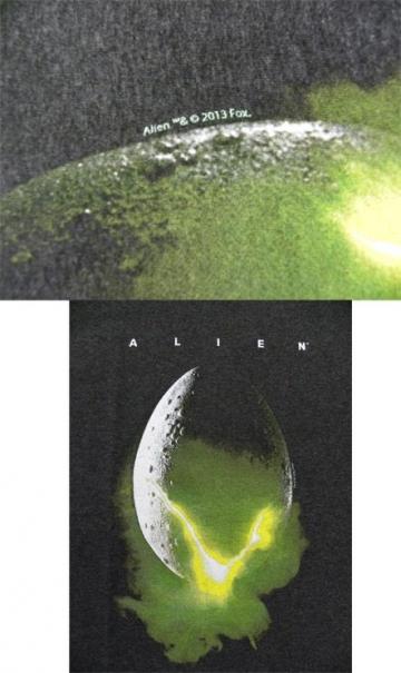 Alien T-shirt 3