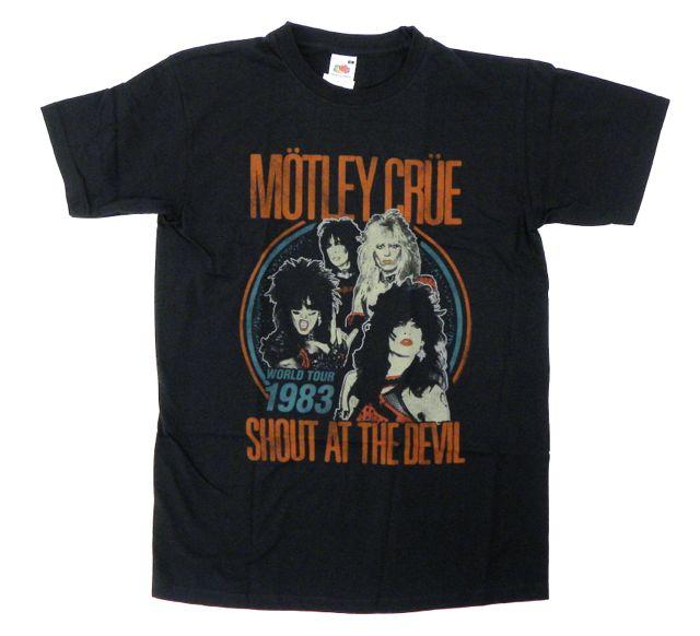 Motley-Crue-Tシャツ
