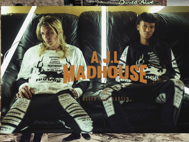 A.J.L MADHOUSE AW 14 COLLECTION