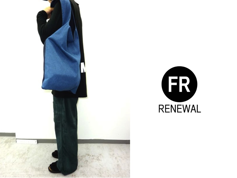 FR RENEWAL DENIM&MODERN JAPAN  ECO BAG