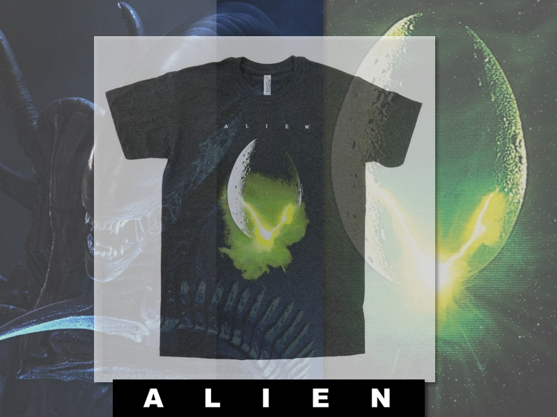 ALIEN OFFICIAL MOVIE T-SHIRT