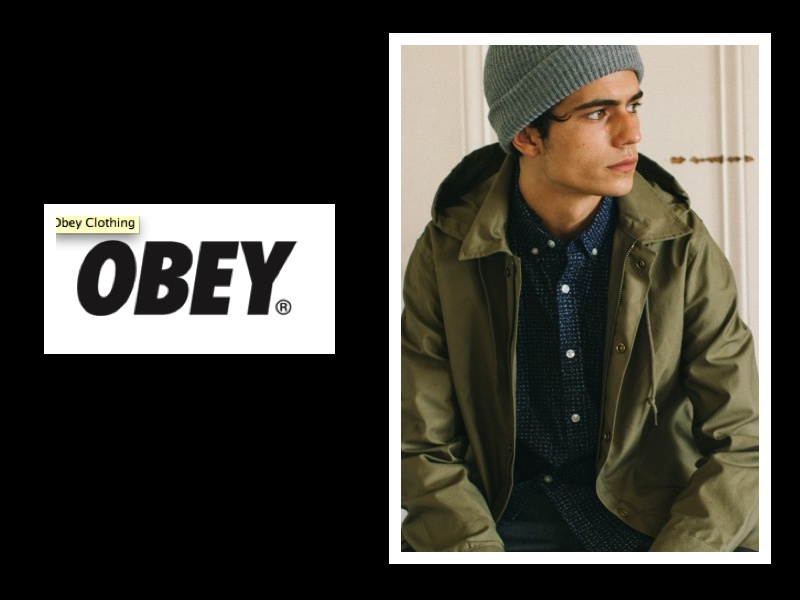 OBEY AW14 HEADGEAR COLLECTION