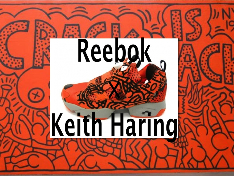 REEBOK KEITH HARING CRACK IS WACK COLLECTION