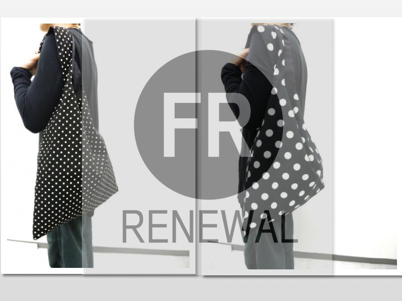 FR RENEWAL POLKADOT ECO BAG