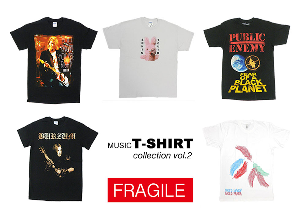 band-t-shirt-collection