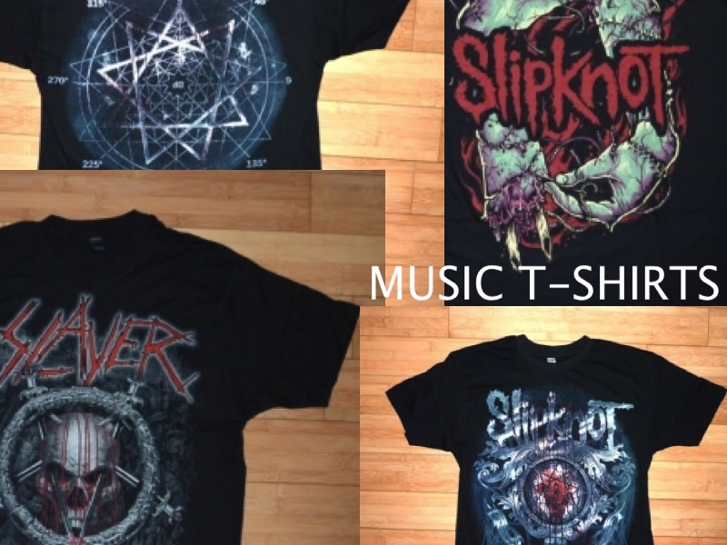 SLIPKNOT,SLAYER LIMITED EDITION T-SHIRT