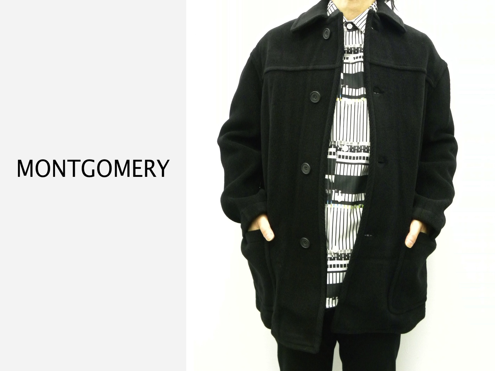 MONTGOMERY WOOL COAT