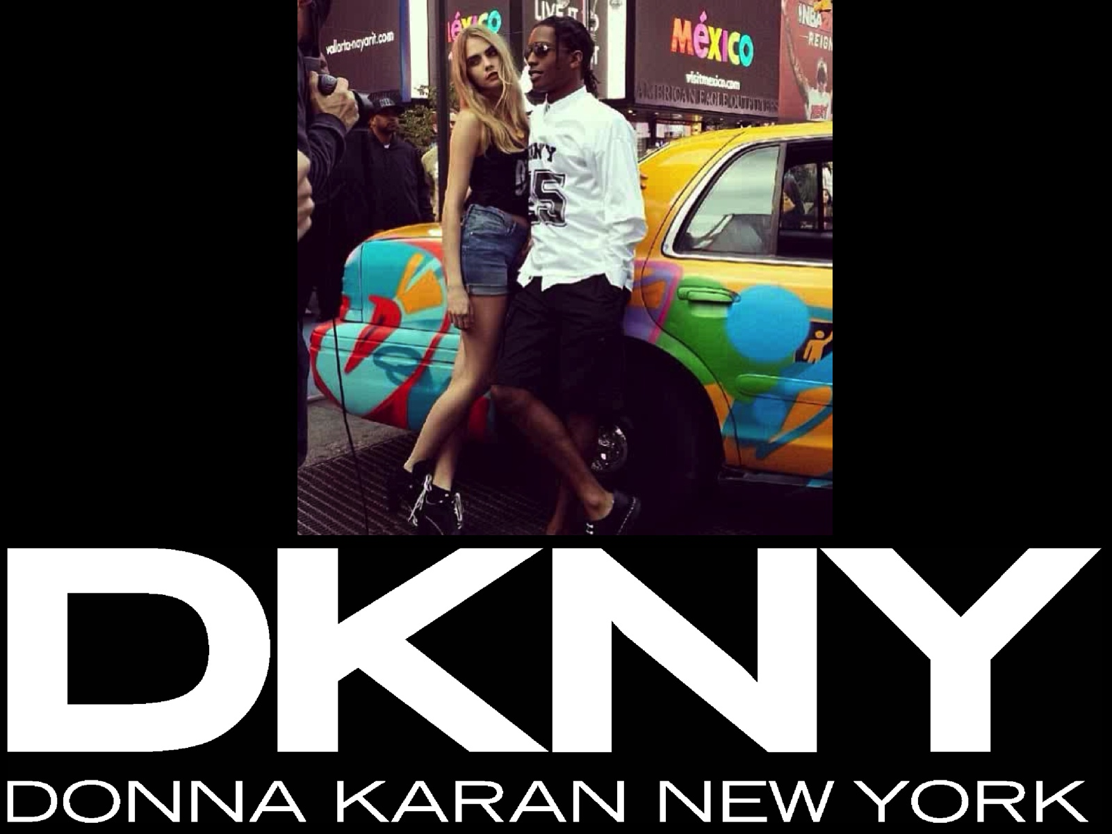 DKNY 90′ MADE IN USA
