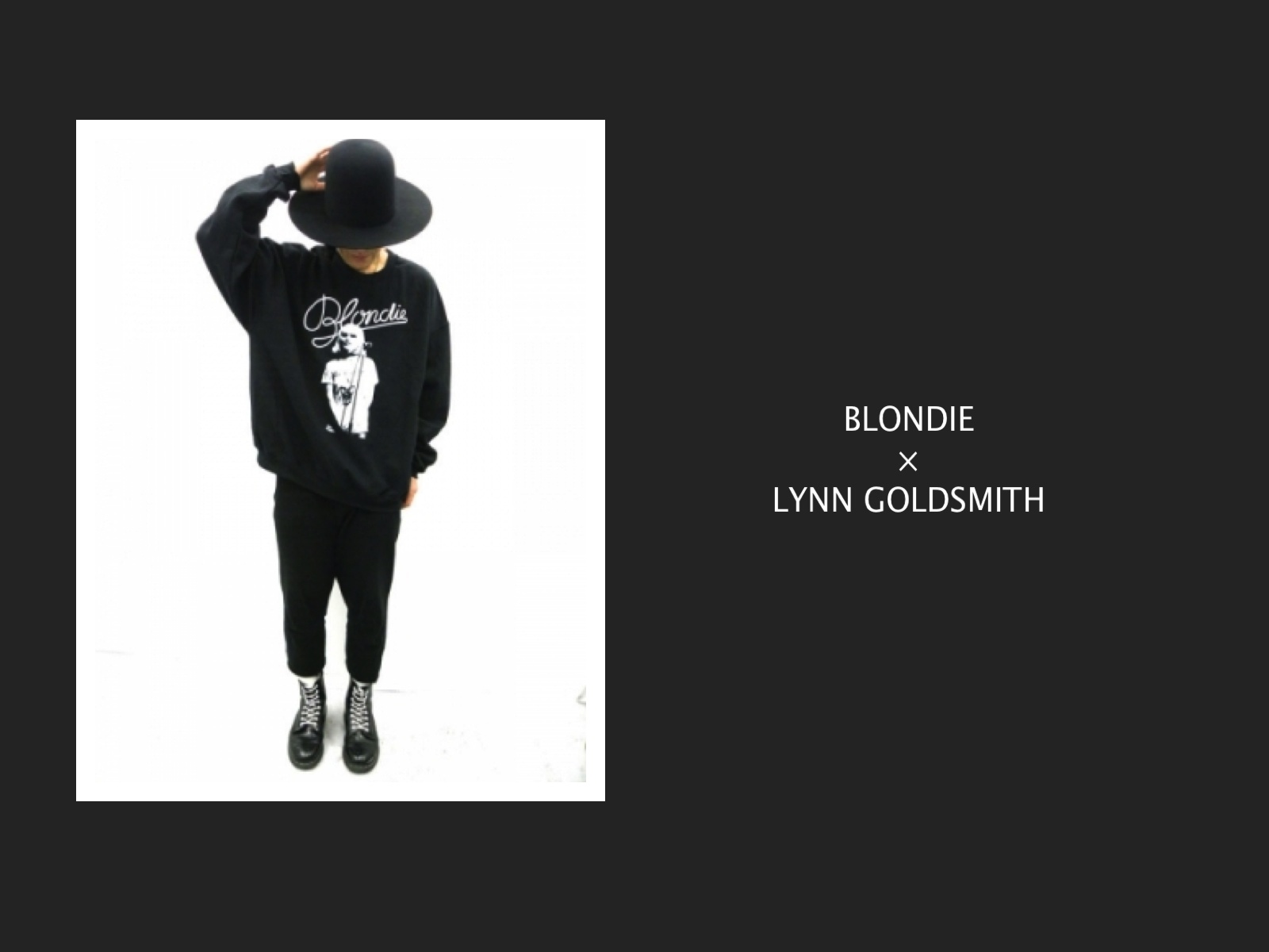 BLONDIE / LYNN GOLDSMITH SWEAT SHIRT