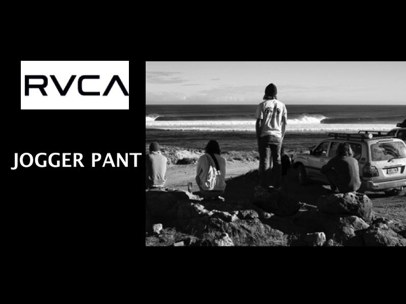 RVCA SS15 HOUSE ARREST JOGGER PANTS