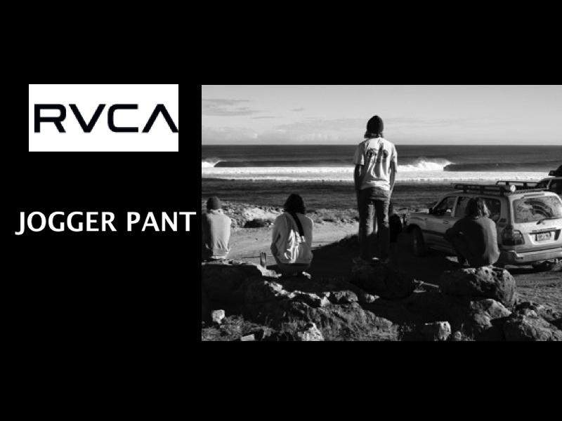 RVCA SS15 HOUSE ARREST JOGGER PANTS