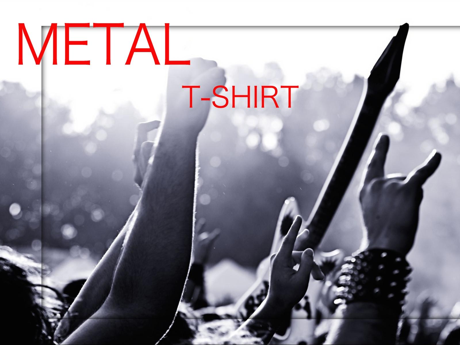 METAL Tシャツ新作入荷