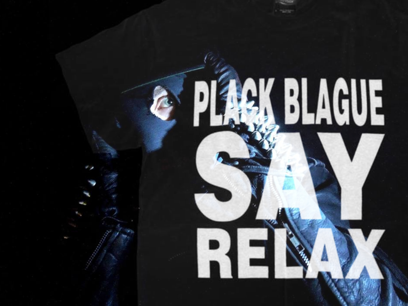 PLACK BLAGUE SAY RELAX T-SHIRT