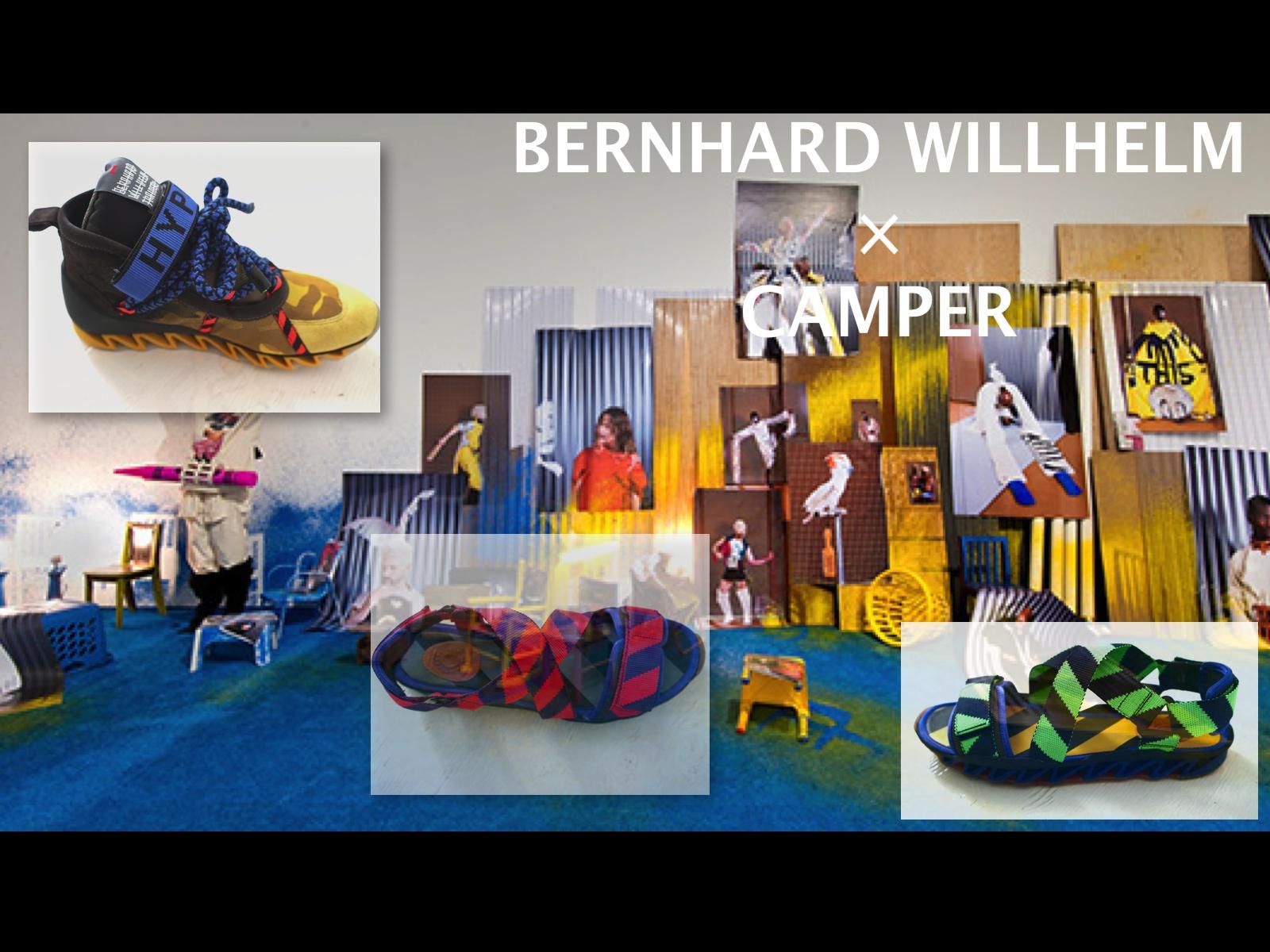 BERNHARD WILLHELM × CAMPER 2015SS