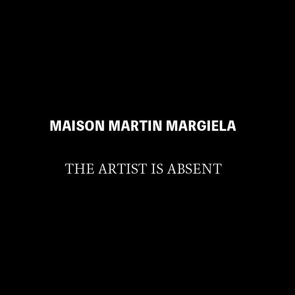 "MAISON MARTIN MARGIELA Short Film ""The Artist is Absent"""