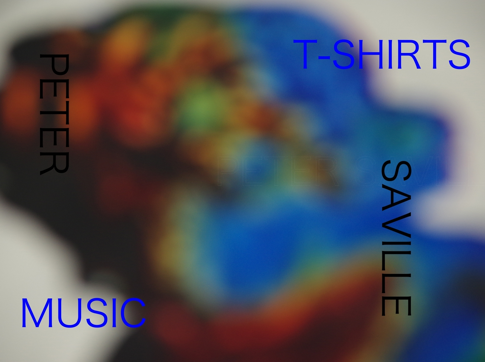 PETER SAVILLE MUSIC T-SHIRTS