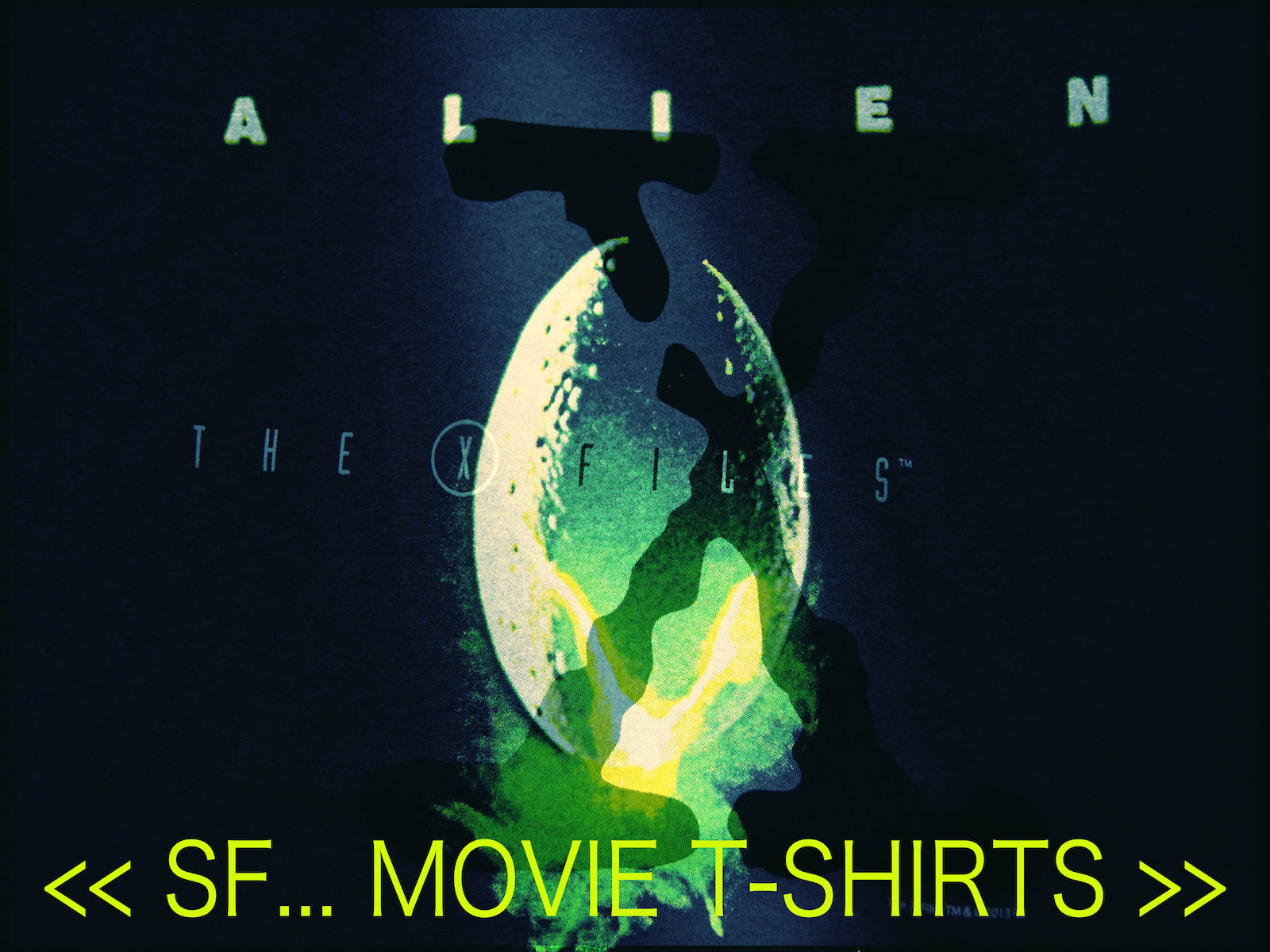 THE X-FILES / ALIEN vol.2 MOVIE T-SHIRT