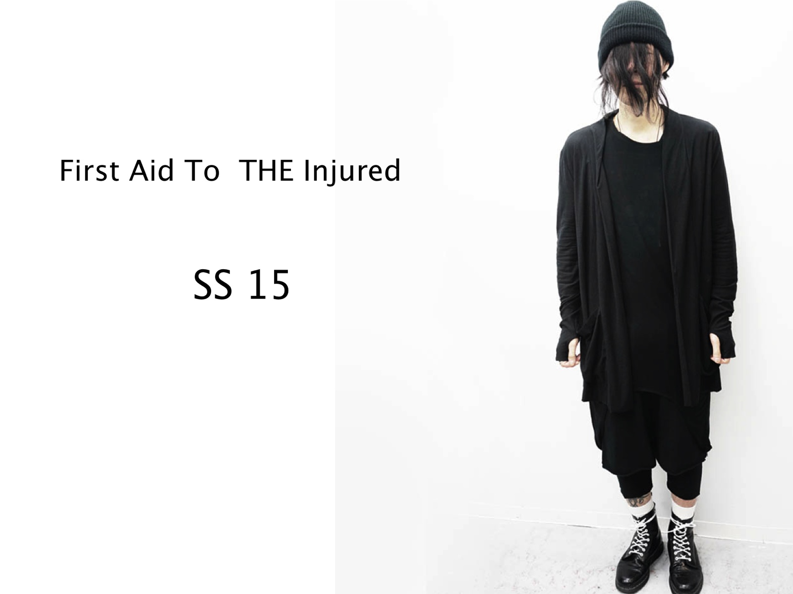 FIRST AID TO THE INJURED SS15 ITEM