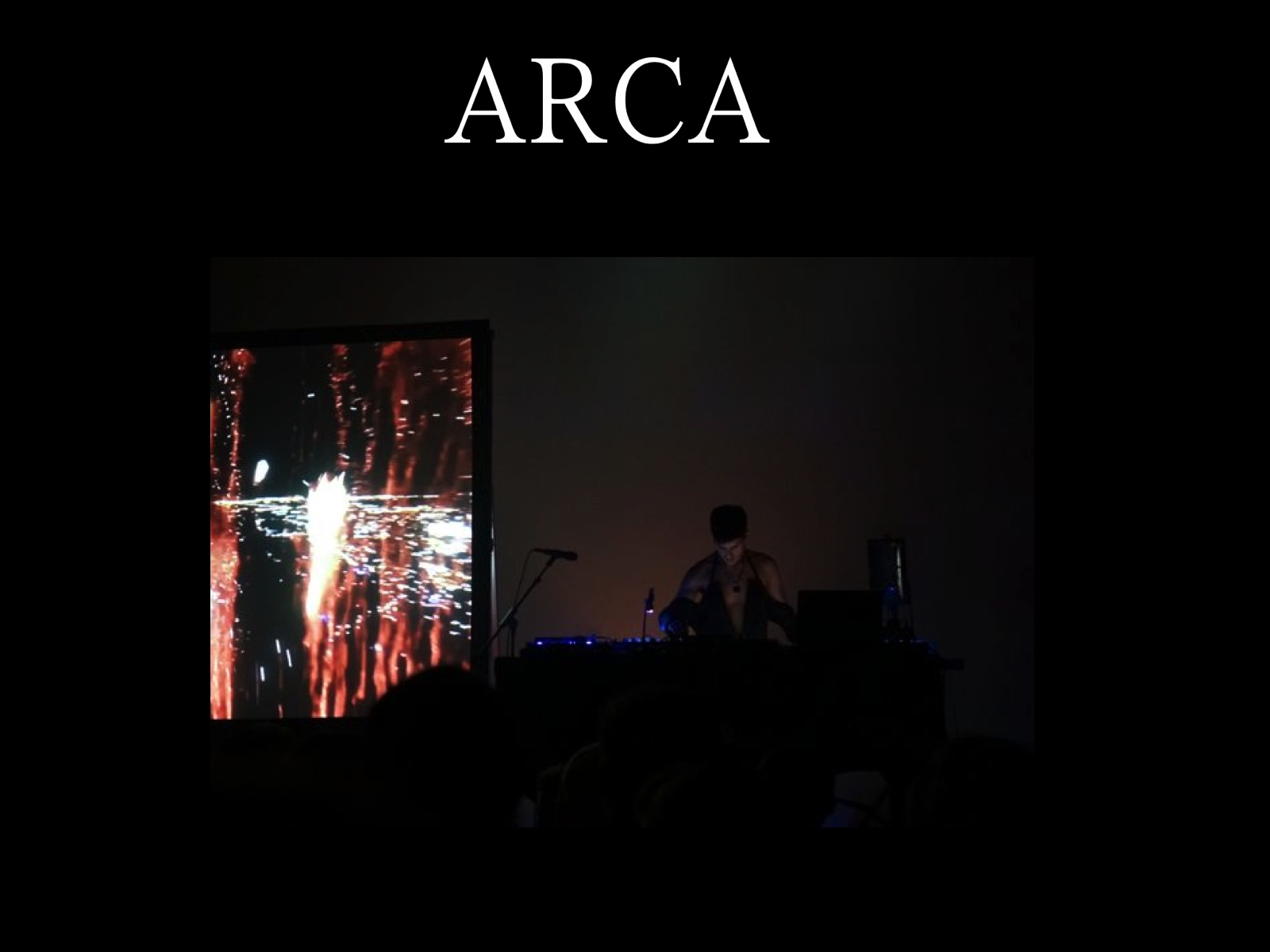 ARCA LIVE@HOLLYWOOD FOREVER