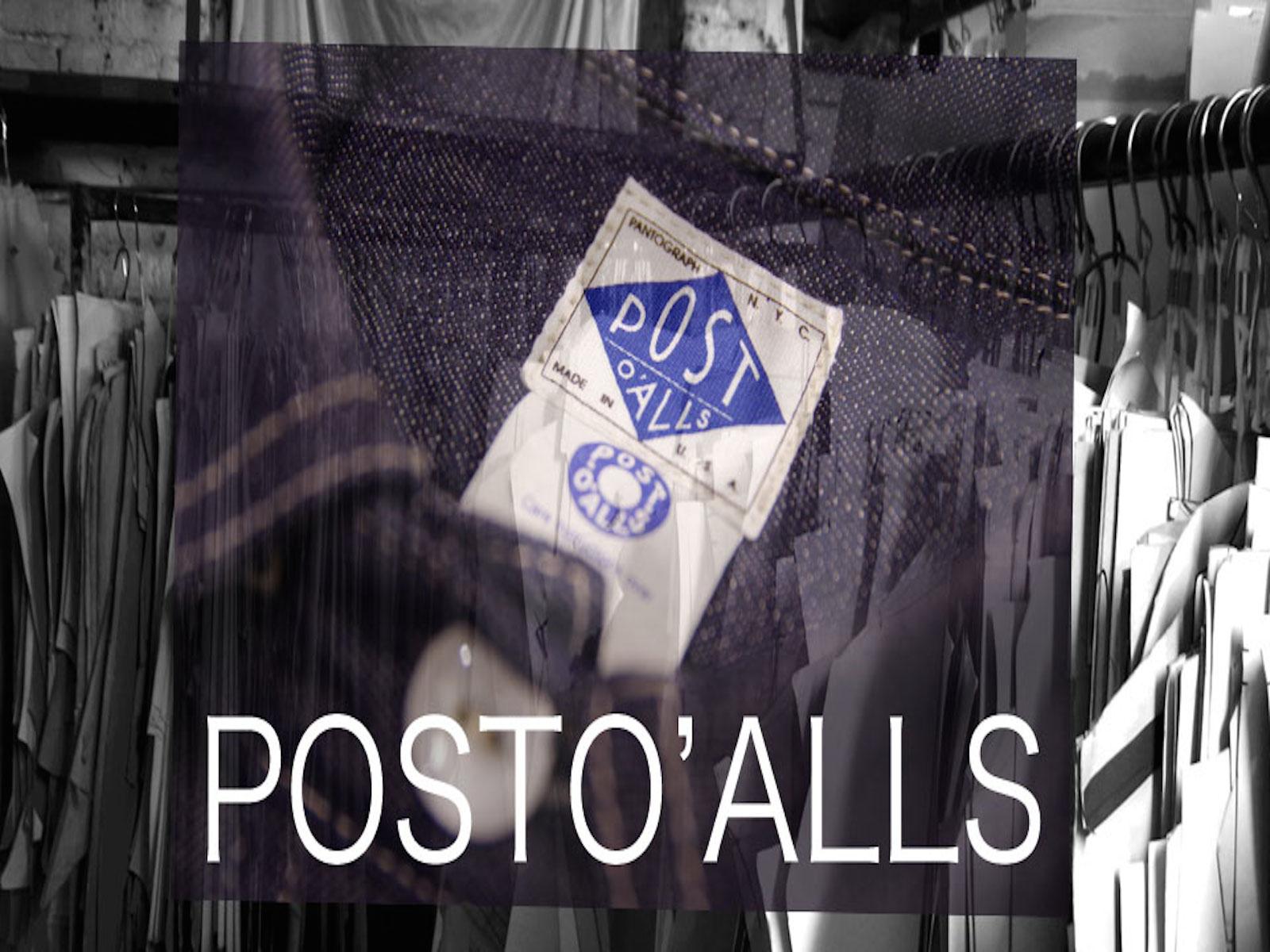 POSTO'ALLS DEADSTOCK SHIRT