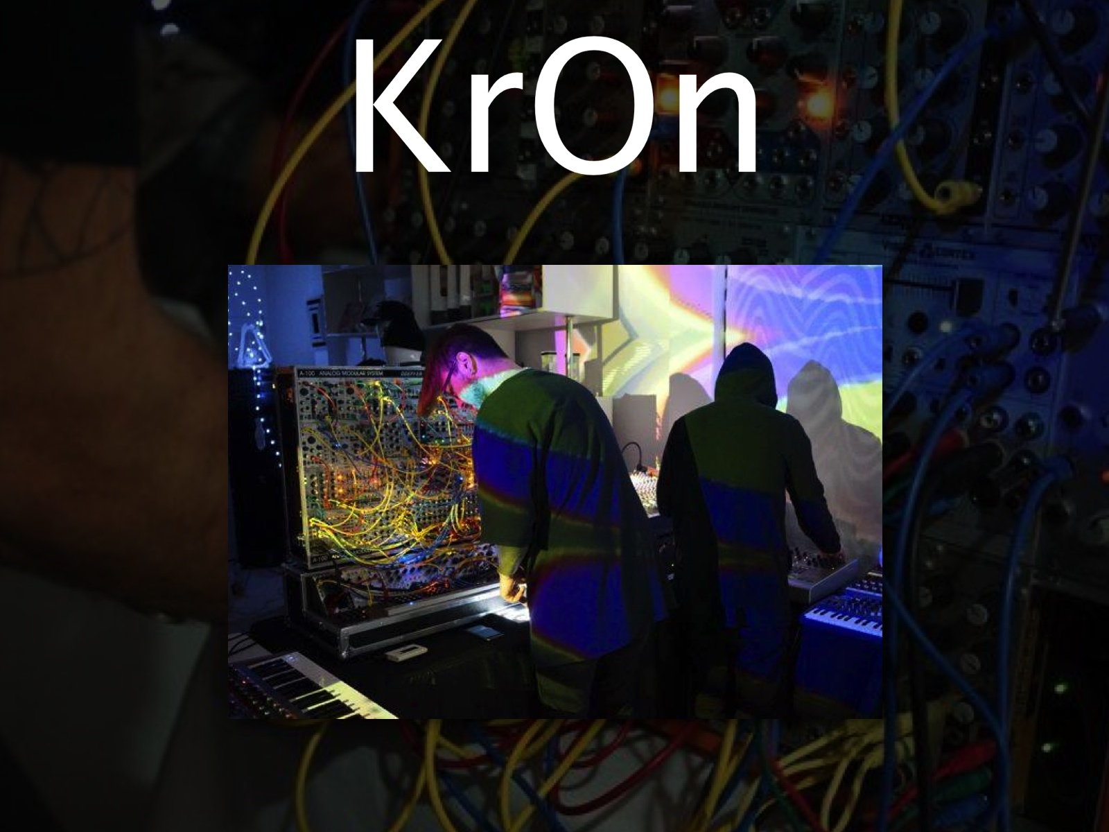 KRON AUDIO/VISUAL ELECTEONIC