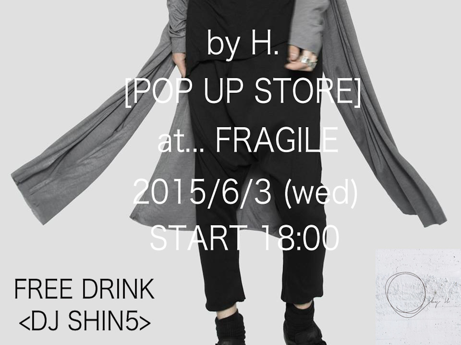 by H. POP UP STORE