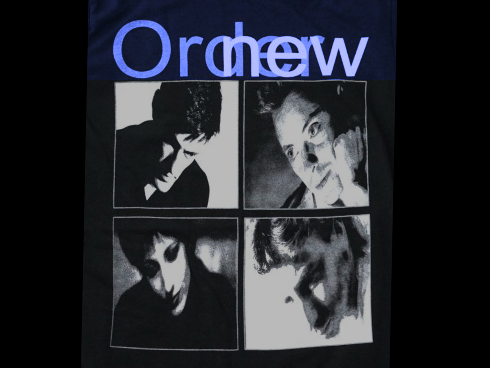 NEW ORDER LOW-LIFE ART DIRECTOR PETER SAVILLE