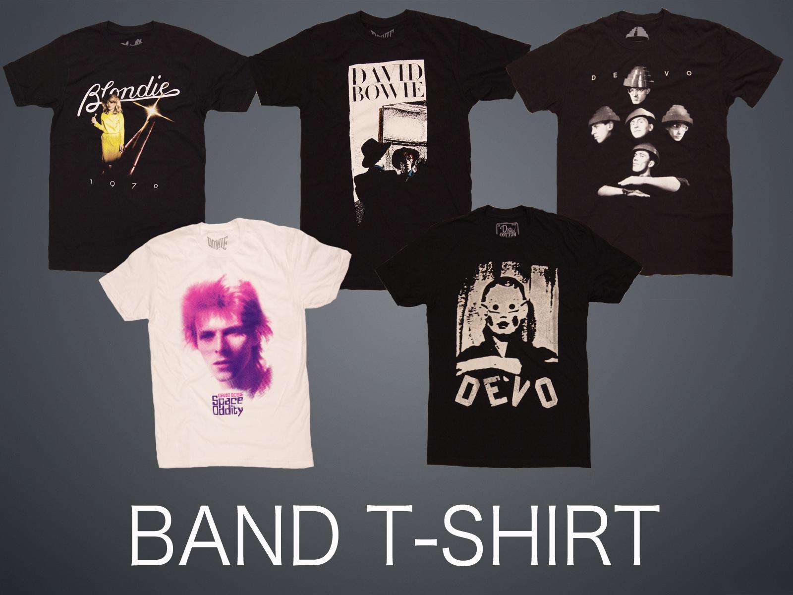 BAND T-SHIRT 70-80's