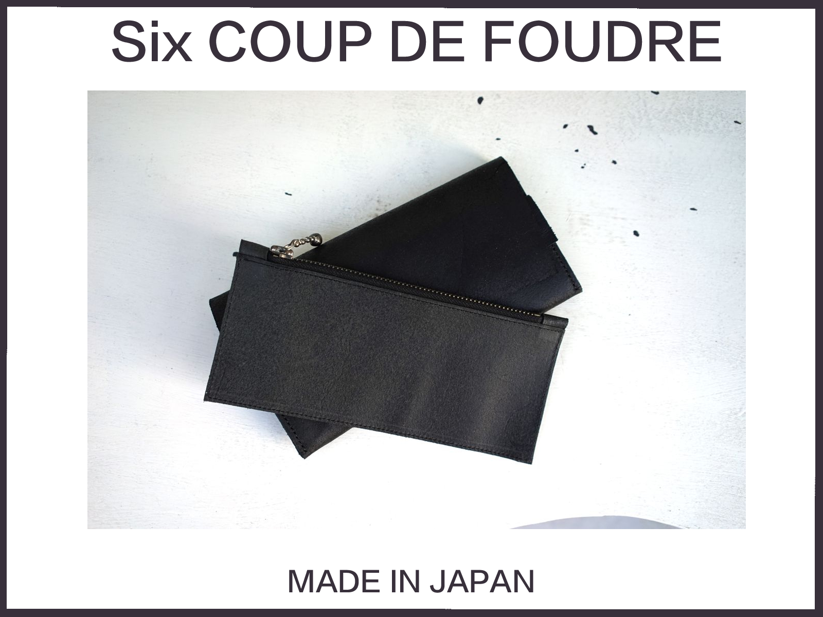 """Six COUP DE FOUDRE""CREATORS IN JAPAN"