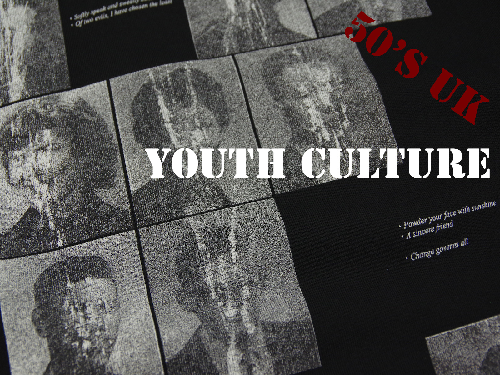 50s UK – YOUTH CULTURE