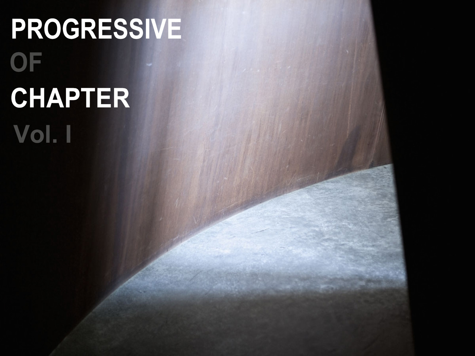 PROGRESSIVE OF CHAPTER Vol. I