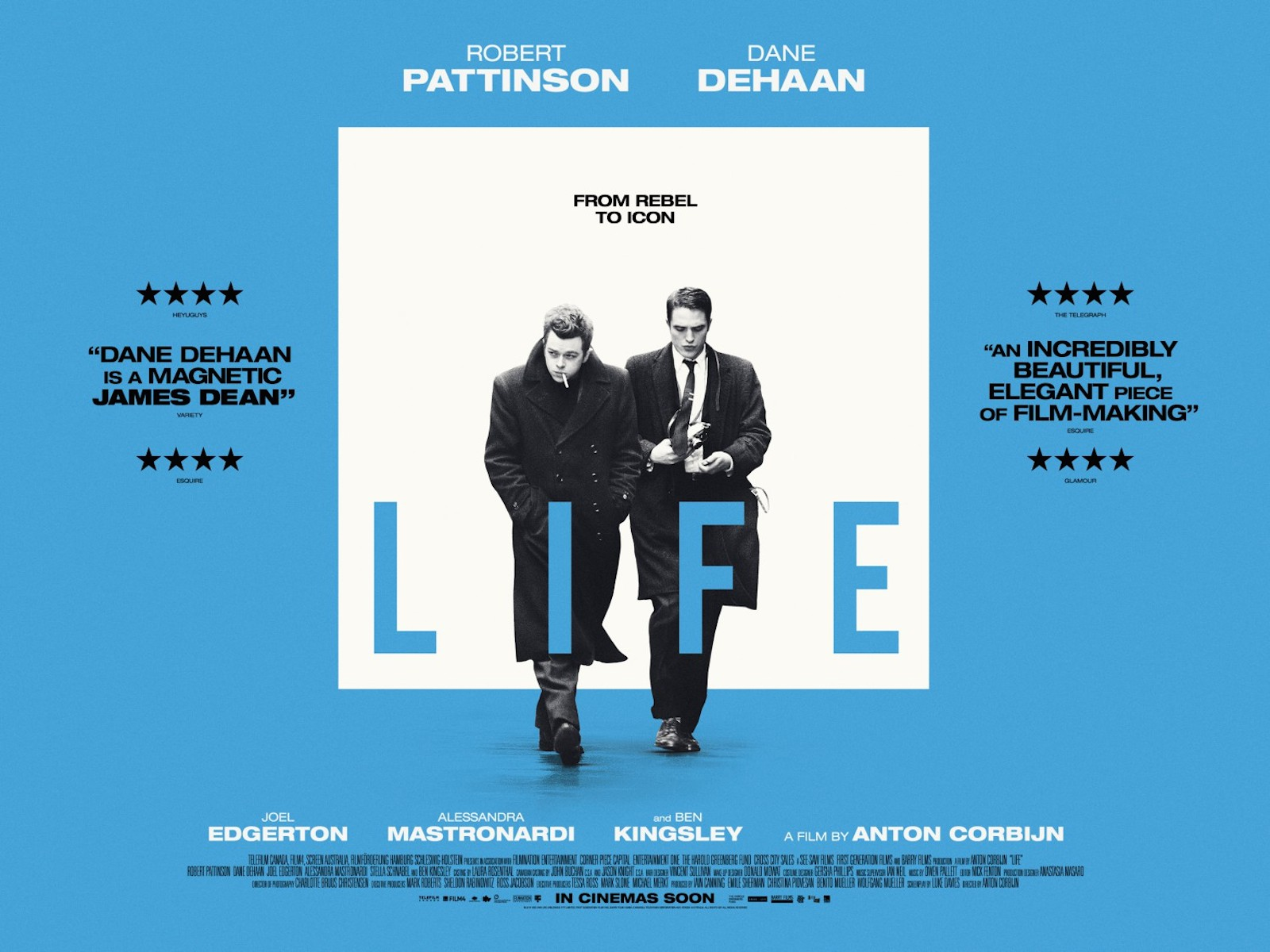 LIFE film directed by ANTON CORBIJN