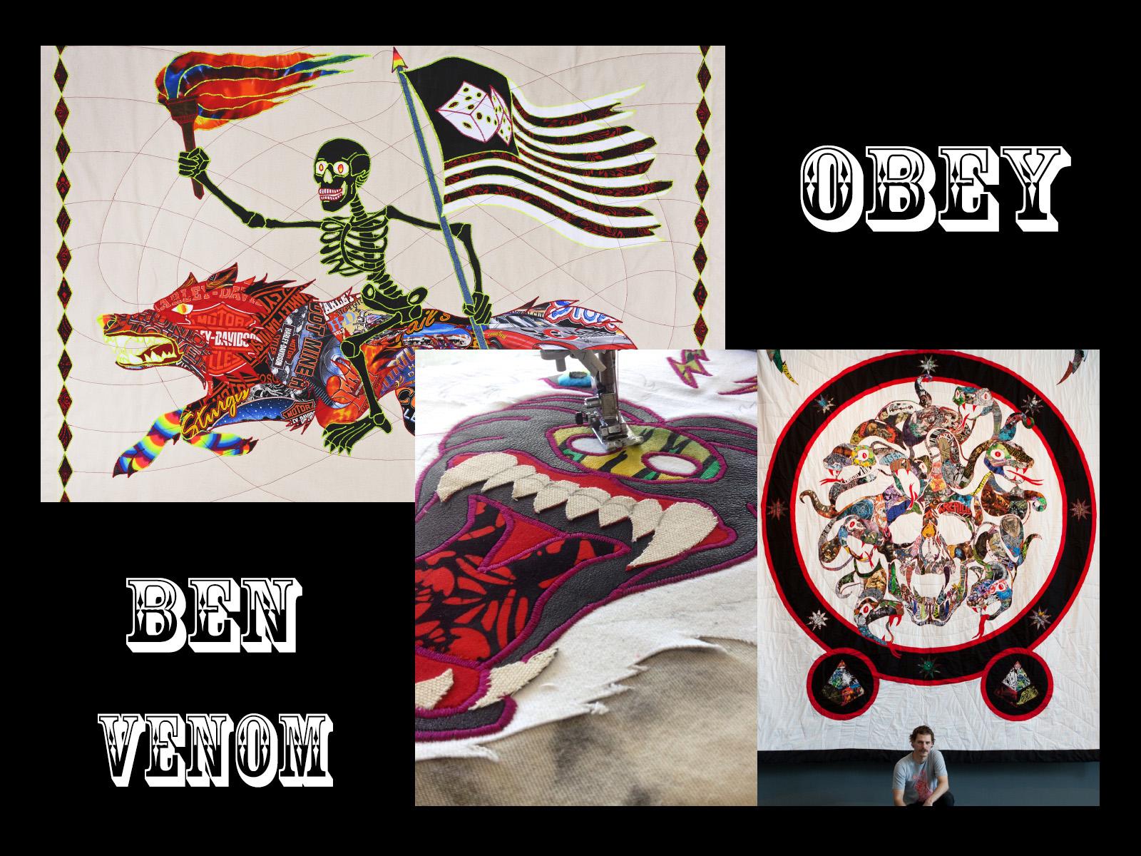 OBEY ARTIST SERIES – BEN VENOM